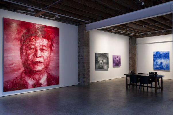 Chinese Icon, installation view
