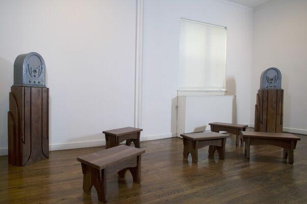 Robert Morris: Boustrophedons, installation view