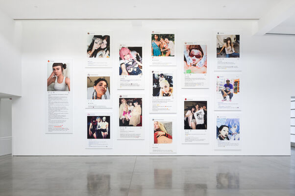 Richard Prince: New Portraits, installation view