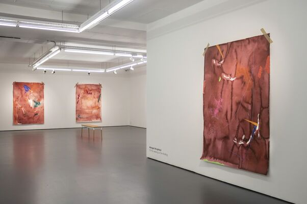 Of the seeking or the finding, installation view