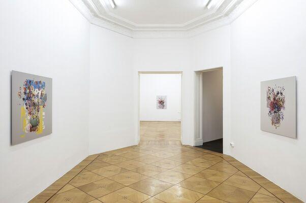 Platinum Blonde Black Knight, installation view