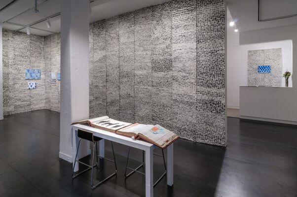 Julie Green: My New Blue Friends, installation view