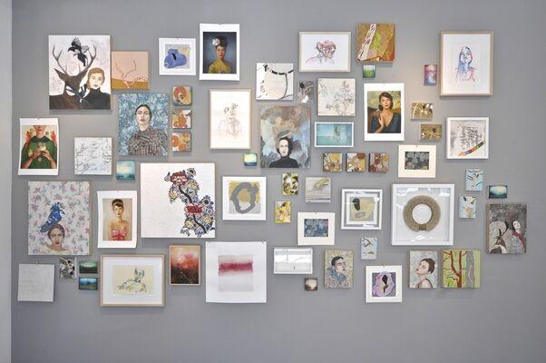 The Salon, installation view