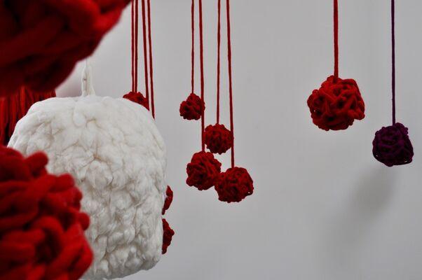 Incarnadine, installation view