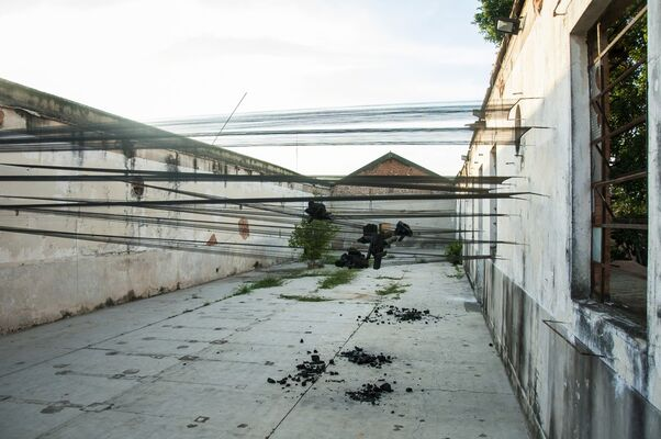 Arranque, installation view