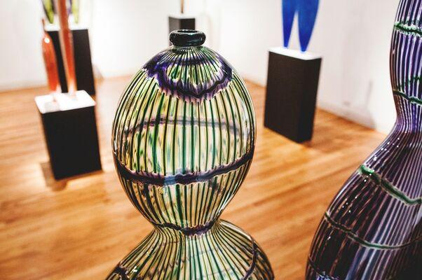 Dante Marioni- In a Breathe, installation view