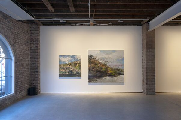 Laura Matthews | Rivers, Roads and Relics, installation view