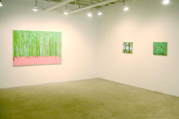 "Benjamin Butler - ""forest's edge"", installation view"