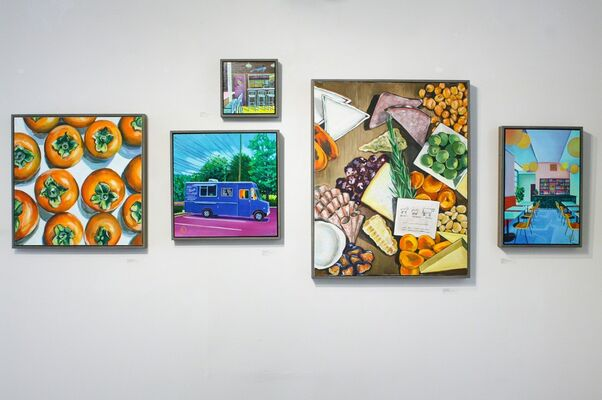 TWO TOP, installation view
