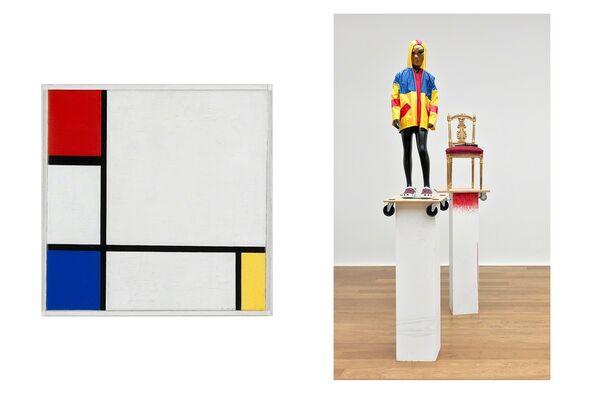 De Stijl at the Stedelijk, installation view