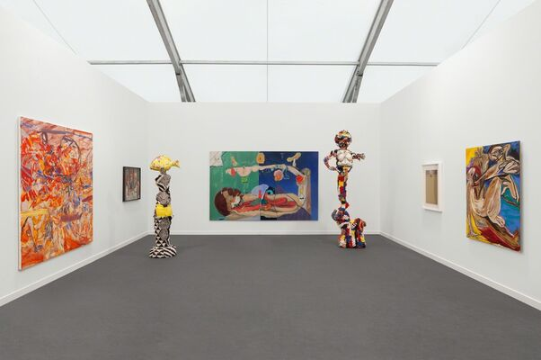 Pippy Houldsworth Gallery at Frieze New York 2019, installation view