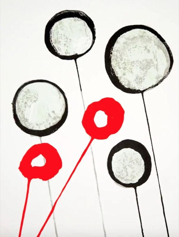 Alexander Calder, 'Poppies', 1966, Print, Velum paper, Modern-Originals