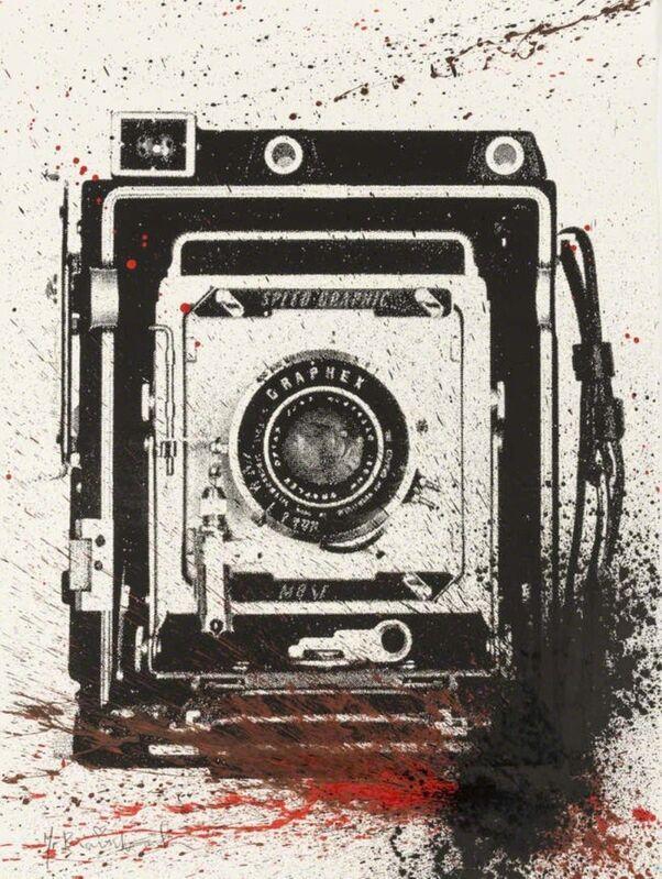Mr. Brainwash, 'Hendrix Graphix (Red)', 2009, Print, Serigraph, Composition.Gallery