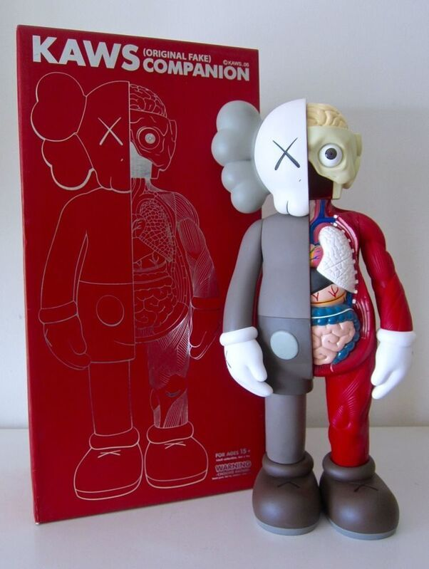 KAWS, 'Dissected Companion 5 Years Later (Brown)', 2006, Sculpture, Vinyl, Dope! Gallery