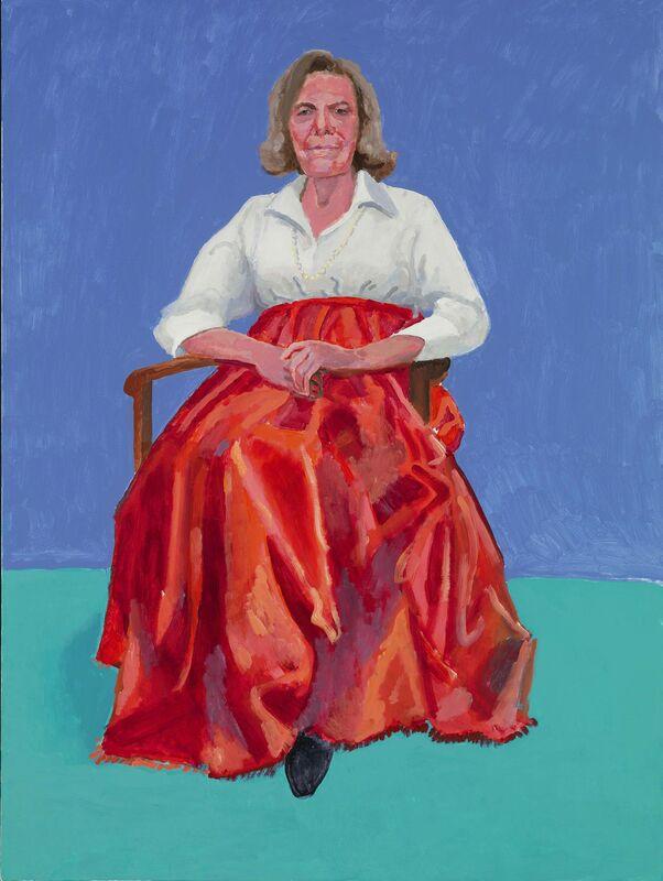 David Hockney, 'Rita Pynoos', 1st-2nd March 2014, Painting, Acrylic on canvas, Royal Academy of Arts