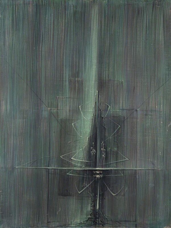 Cesare Peverelli, 'La luce muta', 1957, Painting, Oil on canvas, Finarte