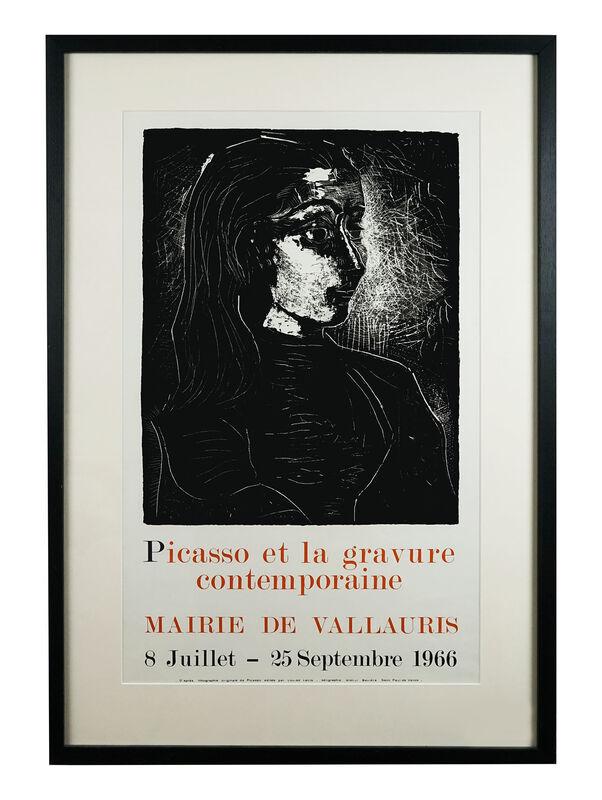 Pablo Picasso, 'gravure contemporaine 1966', 1966, Print, Screen Print, Hidden