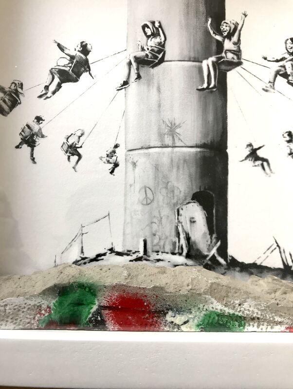 Banksy, 'Walled off ', 2018, Ephemera or Merchandise, Piece of concrete, AYNAC Gallery