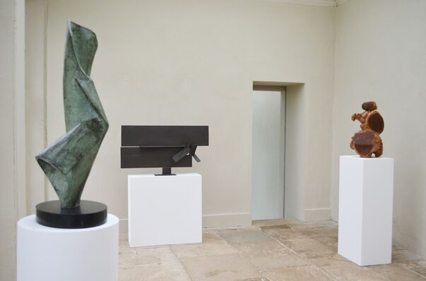 Shaping a Century: Works by Modern British Sculptors, installation view