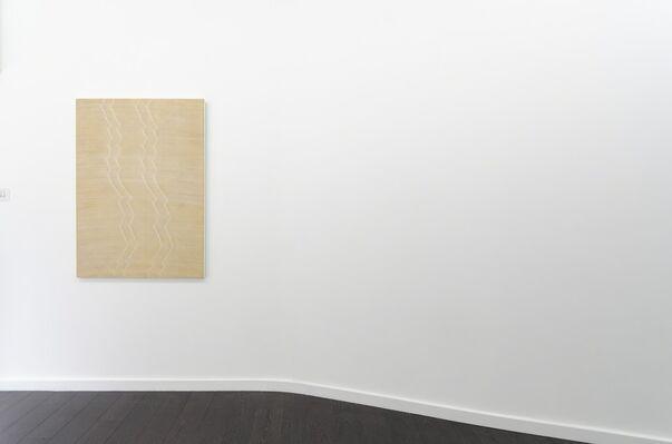 Tactile Line: Sasha Holzer, Sam Messenger, David Murphy and Giluia Ricci, curated by Giulia Ricci, installation view