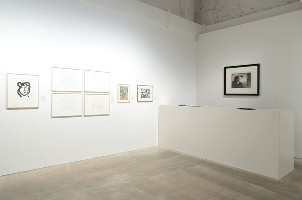 Prints I wish I had published, installation view