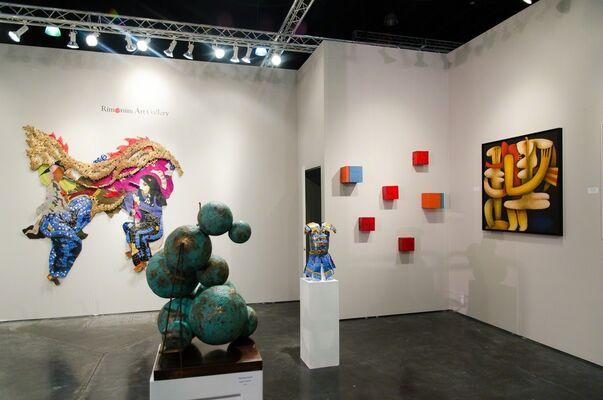 Rimonim Art Gallery at Art Palm Beach 2016, installation view