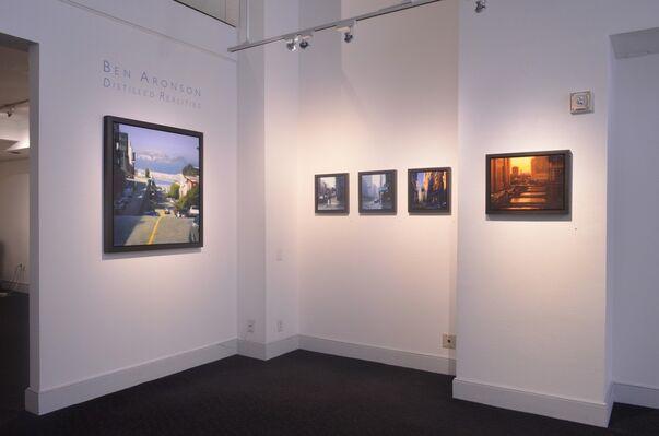 Ben Aronson, Distilled Realities, installation view