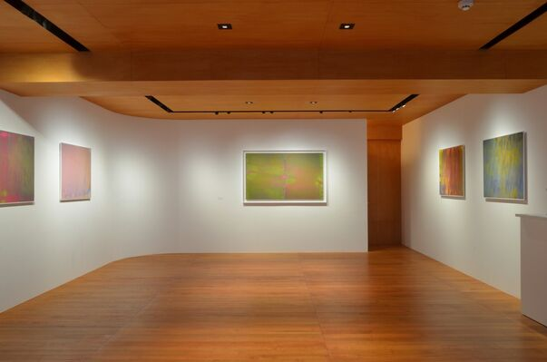 """Kouseki Ono Solo exhibition """"Hundred Layers of Colors"""", installation view"""