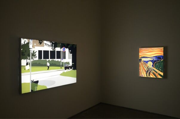The Crime of Art (Hollywood Edition), installation view