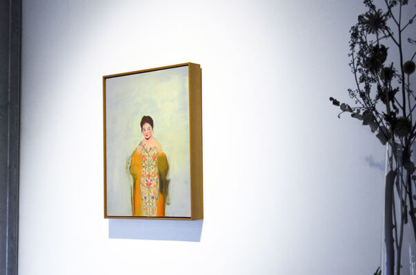 Europe Calling—A Collection of Paintings, installation view