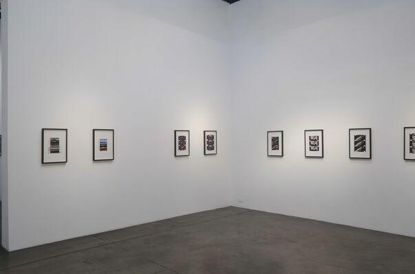 Peter Hutton/Film Stills, installation view
