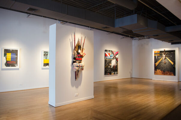 Michi Meko: Pursuit: Almost Drowned, installation view