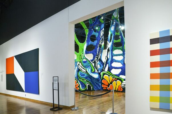 """Crystal Wagner: """"Paroxysm"""" at the Fort Wayne Museum of Art, installation view"""