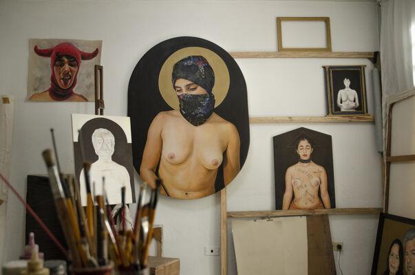 Agreed extermination of freedom- Leonardo Eymil, installation view
