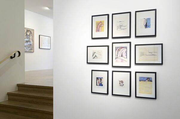Paperworks, installation view