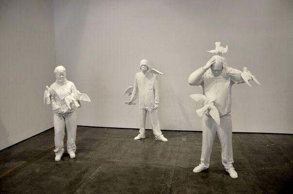 Zhang Dali: Square, installation view