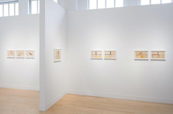 """Chris Corales """"Step Sideways"""", installation view"""
