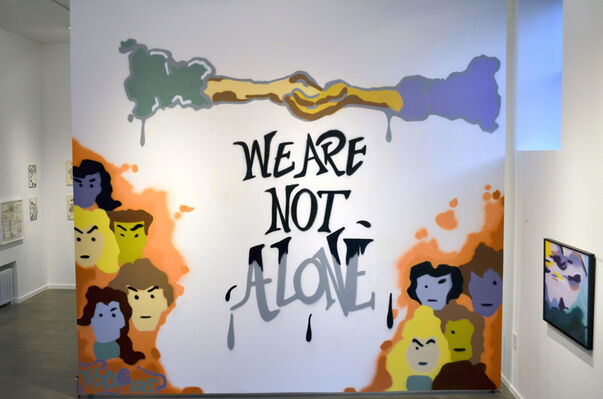 We Are Not Alone, installation view