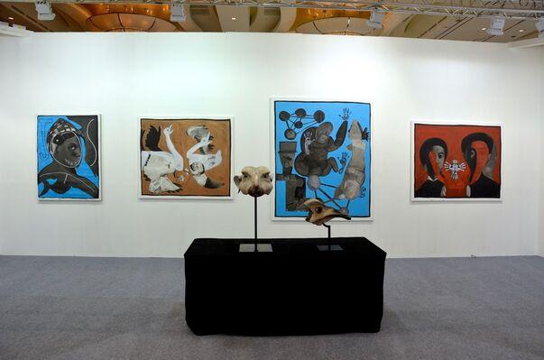 Mazel Galerie at Art Jakarta 2018, installation view