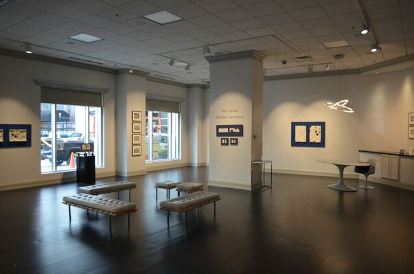 Piers Secunda | ISIS Bullet Hole Paintings, installation view