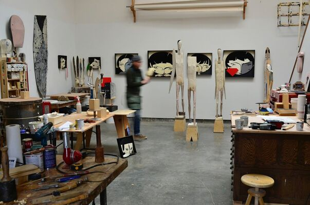 Robert Brady: Mined of My Own, installation view