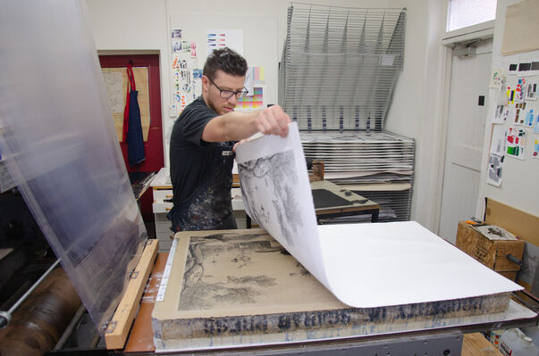 Auckland Print Studio at Sydney Contemporary 2019, installation view