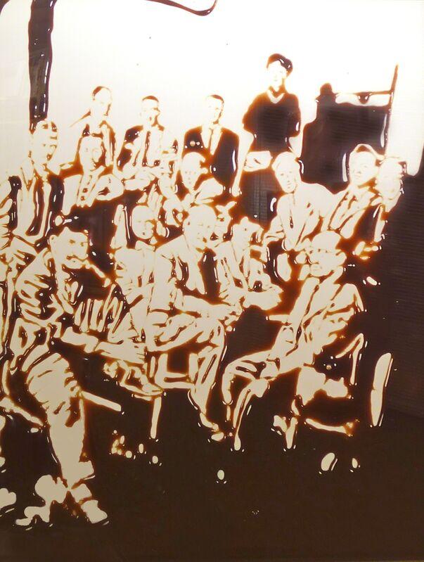 Vik Muniz, 'Irascibles (Picture of Chocolate Series)', 1998, Print, CibaChrome print, Galeria Senda