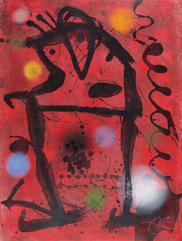 Joan Miró, 'Grans Rupestres VII', 1979, Print, Colour aquatint on vellum, Van Ham
