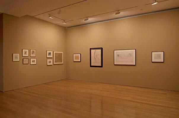 Balthus, installation view