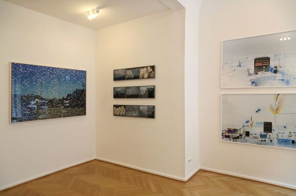 TIM PARCHIKOV | FAST-MOVING TIDES, installation view