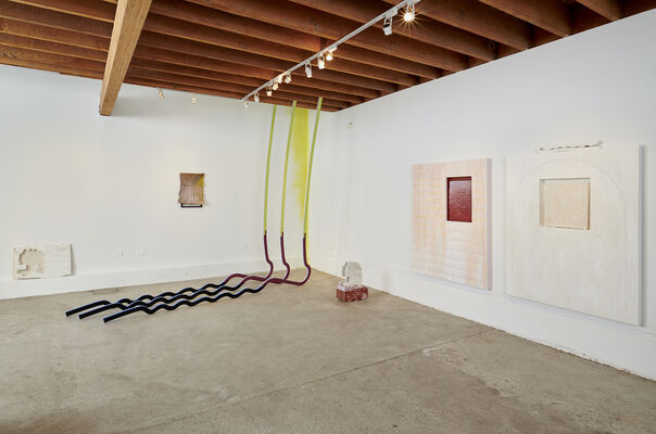 Glyph Slipper, installation view