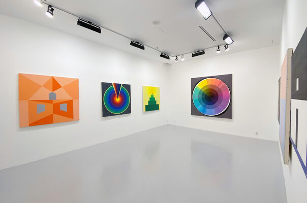 Damon Freed: Structure and Void, installation view