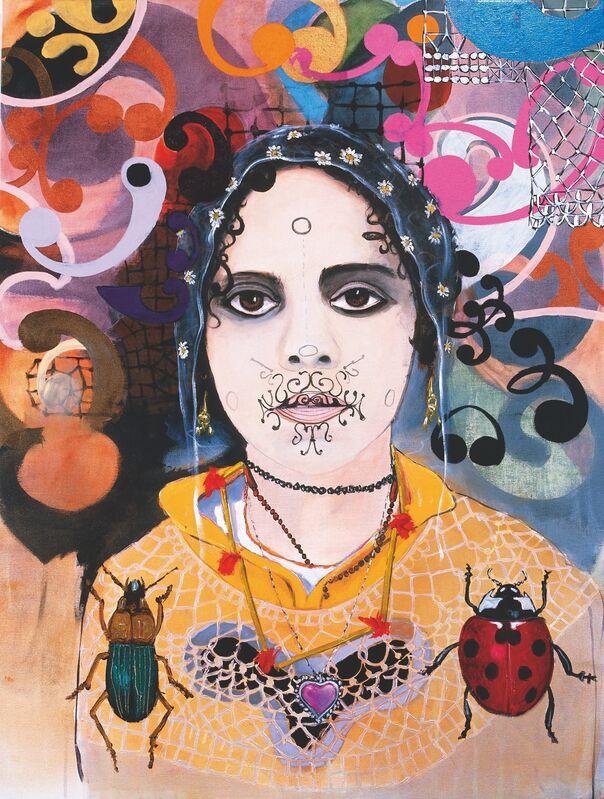 Luiz Zerbini, 'Joaninha [Ladybug]', 1996, Painting, Acrylic on canvas, Instituto Tomie Ohtake