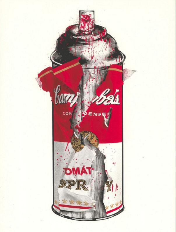 Mr. Brainwash, 'Torn Spray Can (Triptych)', 2020, Print, Silkscreen, Frank Fluegel Gallery